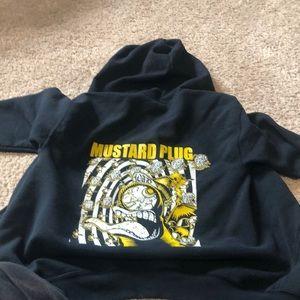 Mustard plug band zip up
